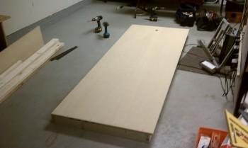 Sidewall Work Bench