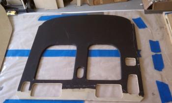 Carbon Fiber Instrument Panel