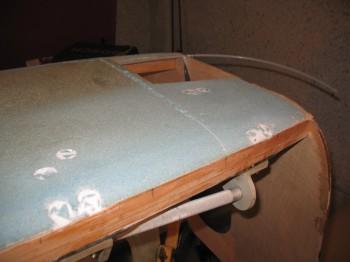 Chapter 7 - Main gear bolt holes on outside foam
