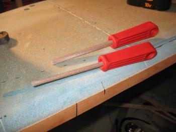 Chap 7 Mod - Rudder cable conduit channel