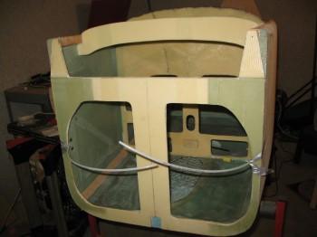 Chap 7 Mod - Rudder conduit imbedded in fuselage
