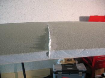 Fuselage side crack repair