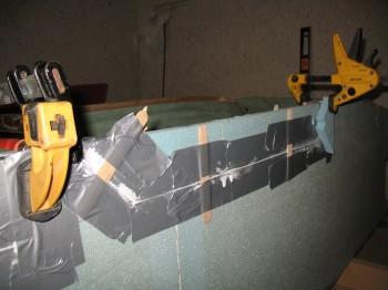 Microing foam repair inserts