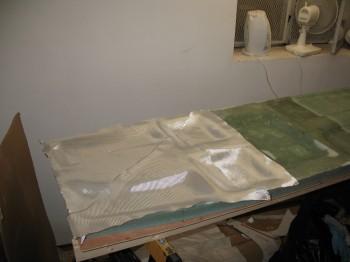 Chapter 6 - Glassing fuselage bottom