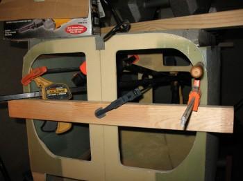 Straightening F22 bulkhead