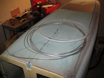 Chap 7 Mod - Running brakes lines in bottom fuselage