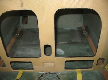 Chap 8 - Seatbelt brackets installed