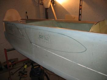 Chap 7 - Determining fuselage strake openings