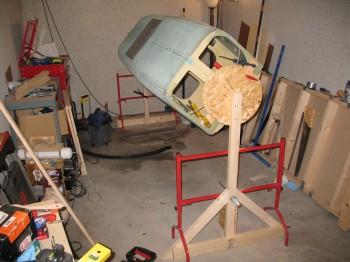 Chap 7 - Building fuselage glassing spit