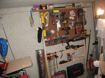 Organizing the shop!