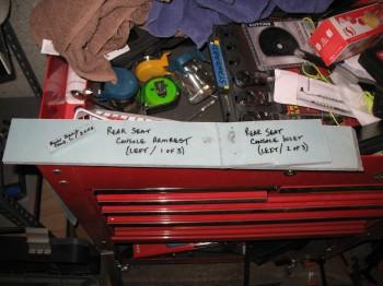 Chapter 24 - Left Rear Console/Armrest