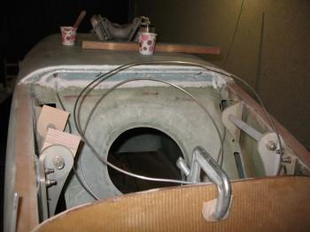 Rear seat/aft end fuselage bottom fill