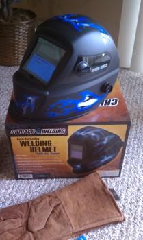 HF Welding Helmet