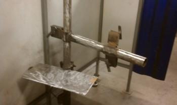 Welding work stand at class