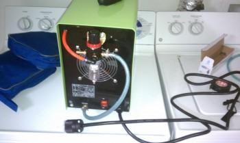 Air filter & compressed air hookups for plasma cutter