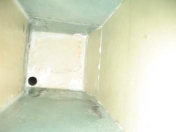 1-ply BID tape (front/right corner)