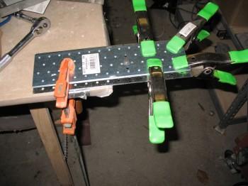 Chap 10 - Canard: Mounting tab install jig prep