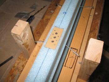 Chap 10 - Foam prep for mounting tab nut plates