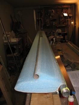 Chap 11 - Elevator foam/torque tube attached