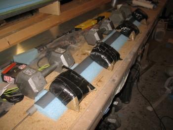 Chap 11 - Attaching elevator foam/torque tube
