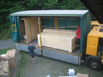Fuselage & canard/cs spar crates