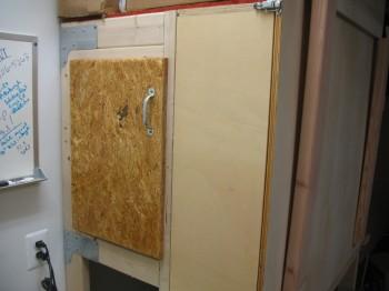 Hotbox door