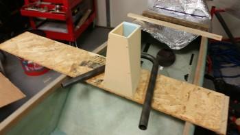 Headrest foam mock-up