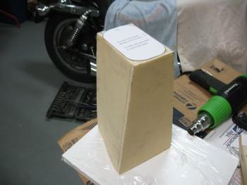 "Headrest ""box"" complete"