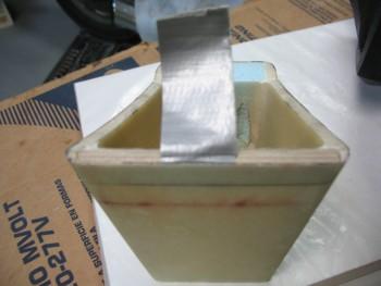Testing plywood insert