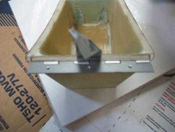 Testing hinge & plywood insert width