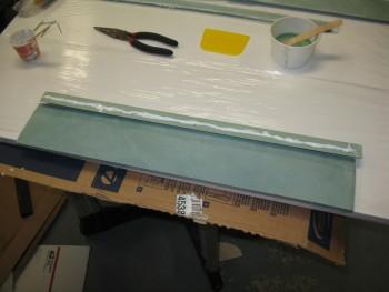 Flocro gap piece to seat top
