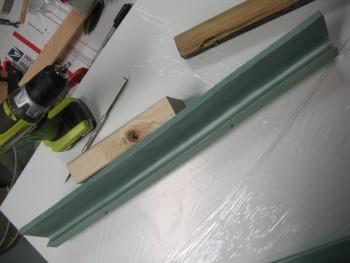 Seatback shelf & gap fill piece