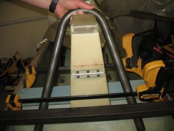 Headrest & rollover mock-up