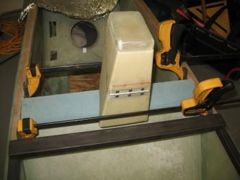 View of rollbar cross bar