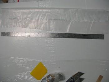 BID tape pre-preg prepped