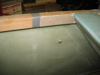 Aft seat BID reinforcement layup