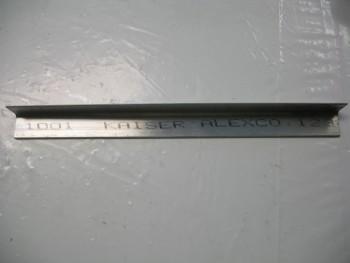 Roll trim tab construction