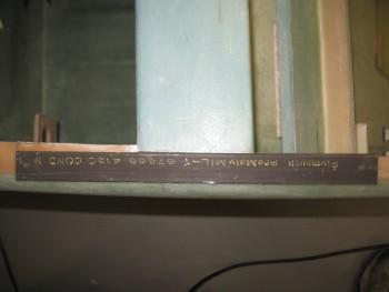 Cutting side rollbar side rails