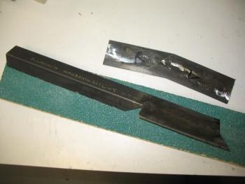 Top side rail piece (& interior pieces)