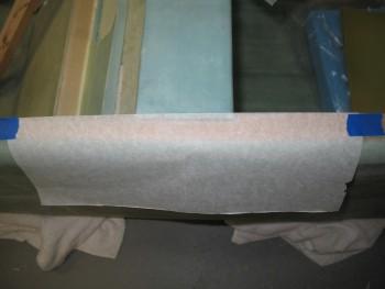 Side rail edge template