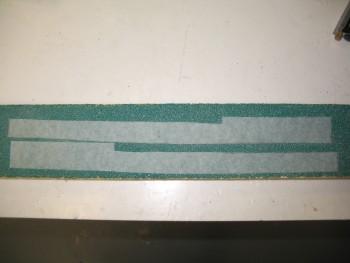 Side rail edge templates