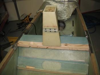 Side rails finished & trimmed