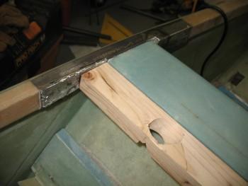 Siderail & cross bar mock-up