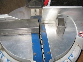 Rollbar assembly cross bar cut