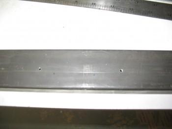 Crossbar headrest mount holes drilled