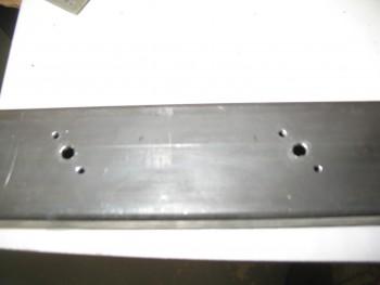 Crossbar headrest mount nutplates