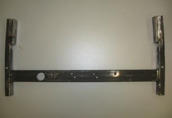 Cross bar tack welded to side rails