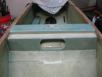 Layup for lower seatback peel plied