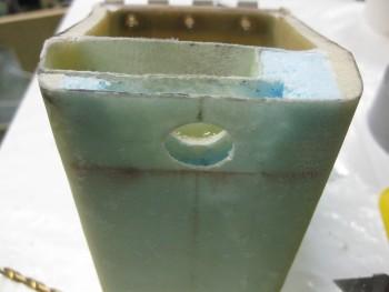 Drilling headrest lock hole