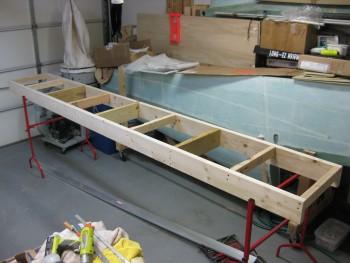 Canard work bench frame complete